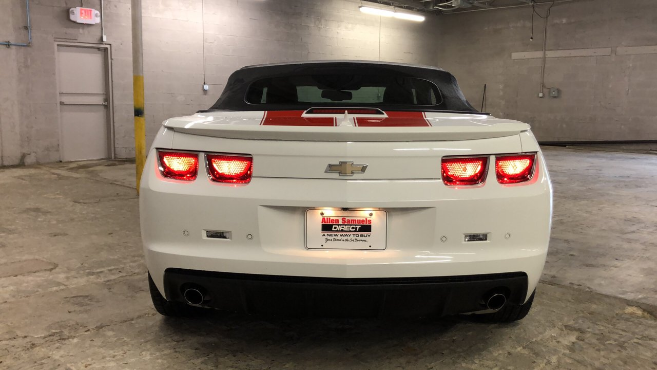 Certified Pre-Owned 2012 Chevrolet Camaro 1LT