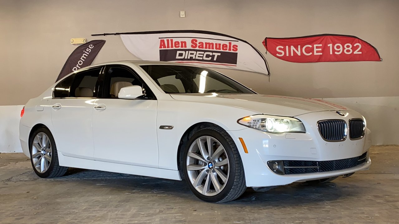 Certified Pre-Owned 2012 BMW 5 Series 535i