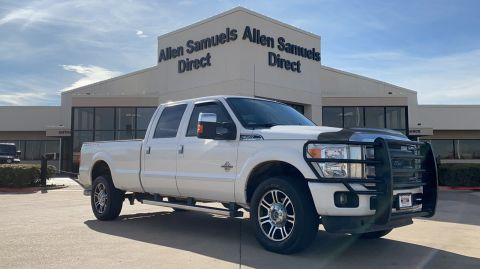 Certified Pre-Owned 2016 Ford Super Duty F-350 SRW 4WD Crew Cab 156 Platinum