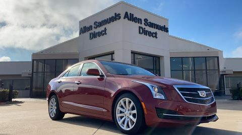 Pre-Owned 2017 Cadillac ATS Sedan RWD