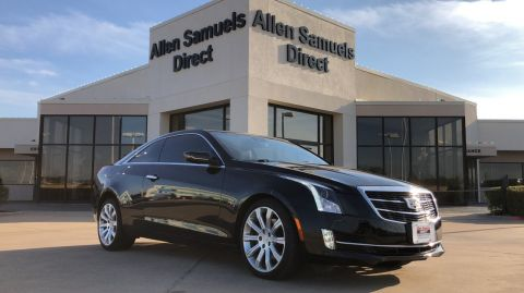 Certified Pre-Owned 2016 Cadillac ATS Coupe Luxury Collection AWD